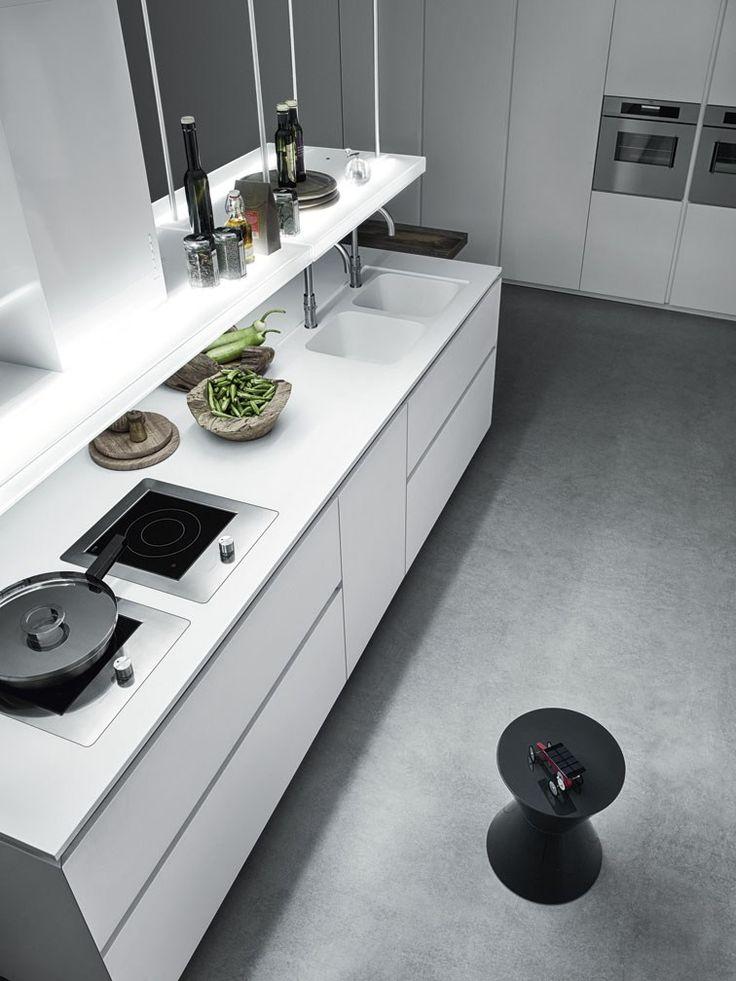 Küche ohne griffe  Die besten 25+ Küche ohne griffe Ideen auf Pinterest | Griffe ...