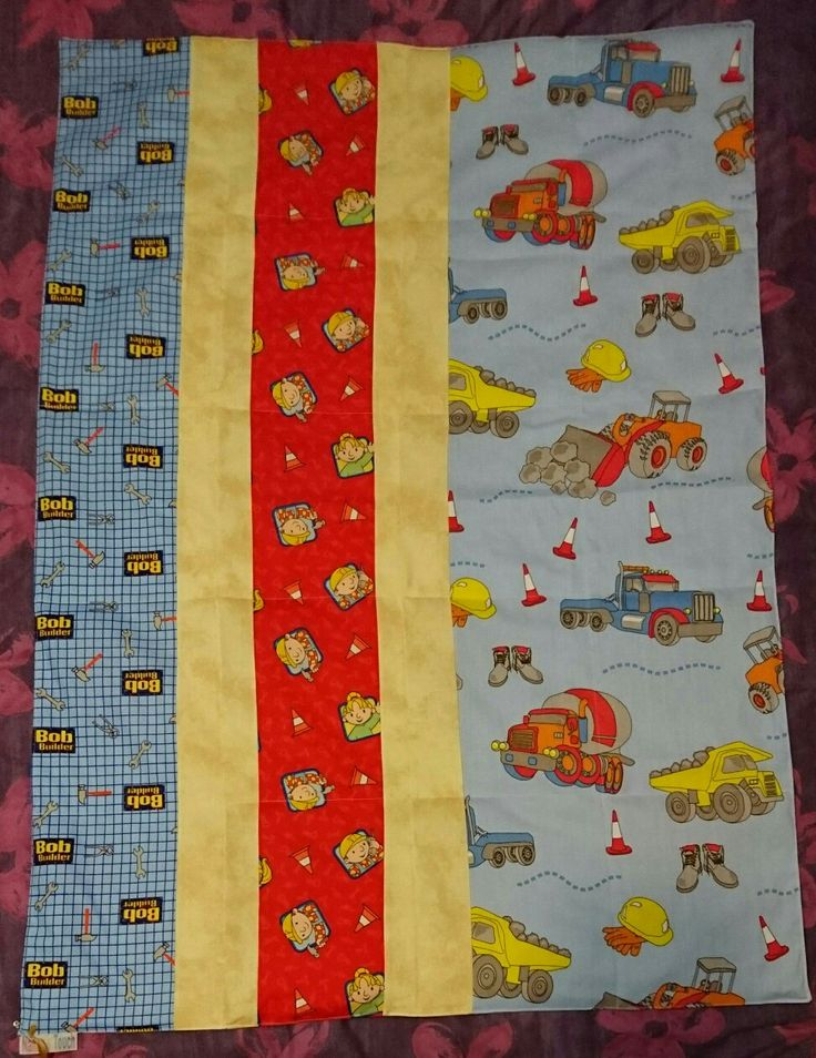 Bob the Builder weighted quilt