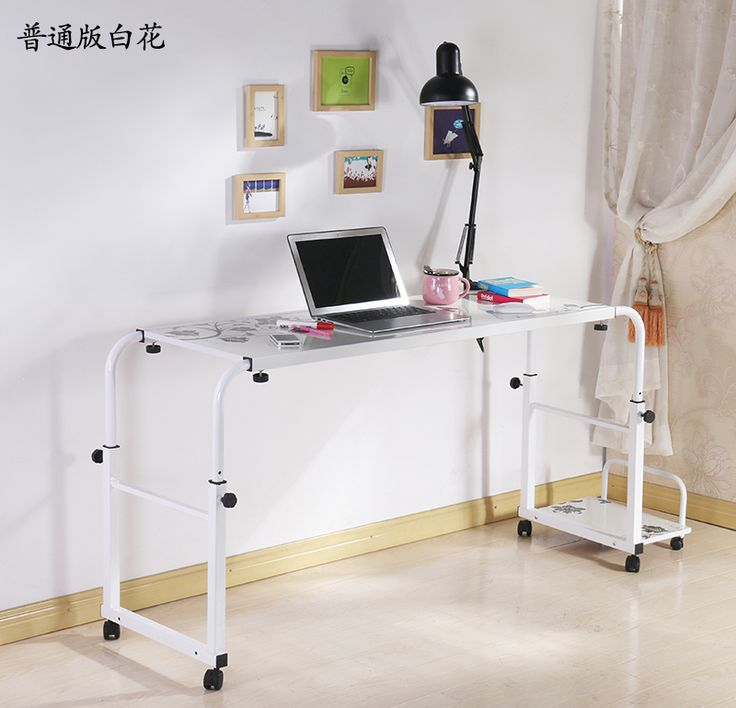 Double Double Bed Computer Desk Table Dining Table Can Be
