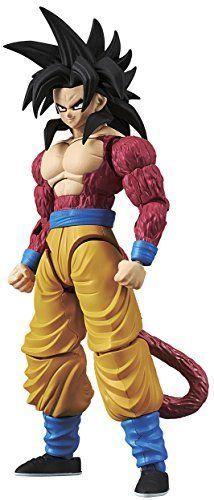 BANDAI Figure-Rise Standard Super Saiyan 4 Son Gokou Dragon Ball GT Plastic Kit D'autres figurines de Dragon Ball : http://amzn.to/2kT3swF