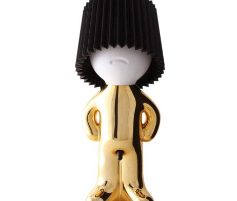 Mr P Table Lamp Gold / Black | Tododesign by Arq4design