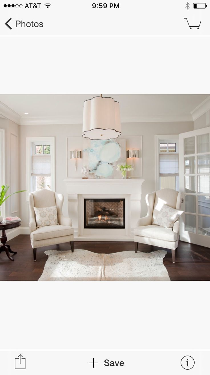 Paint colors - walls Dove Wing, trim Doce White (Benjamin Moore)