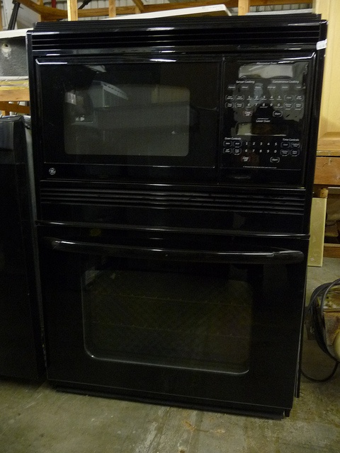"GE Profile microwave oven for sale at the ReStore for $1,000.    Dimensions: 30""W x 44""T x 2'D.  Sensor cooking for convenience cooking, with separate controls for microwave & lower oven.    The Habitat for Humanity ReStore is open to the public at 6725 H   Home Living readf more at home.forallup.com"
