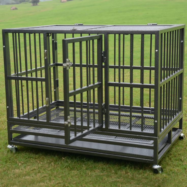#escape proof dog crate, #heavy duty dog crate, #gorilla tough dog crate, #indestructible dog crate, #strong dog crate