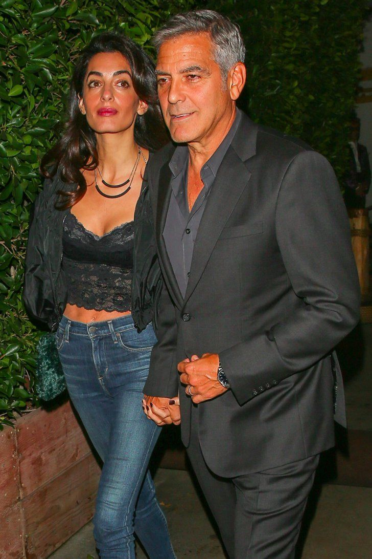 Amal Clooney Goes Sexy For Her Double Date With George, Cindy Crawford, and Rande Gerber