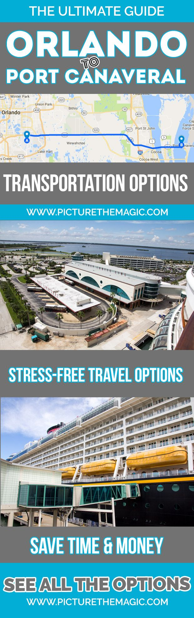 Orlando to port canaveral transportation options the 2017 guide