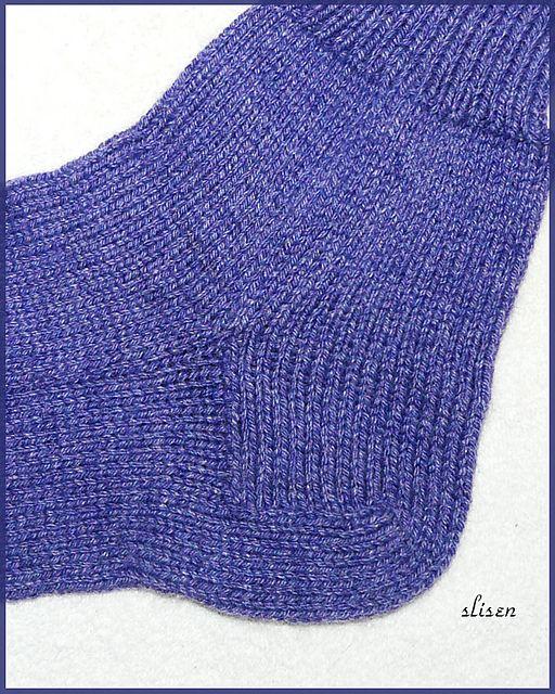 Ravelry: Machine Knit Socks with Dutch Heel pattern by ...