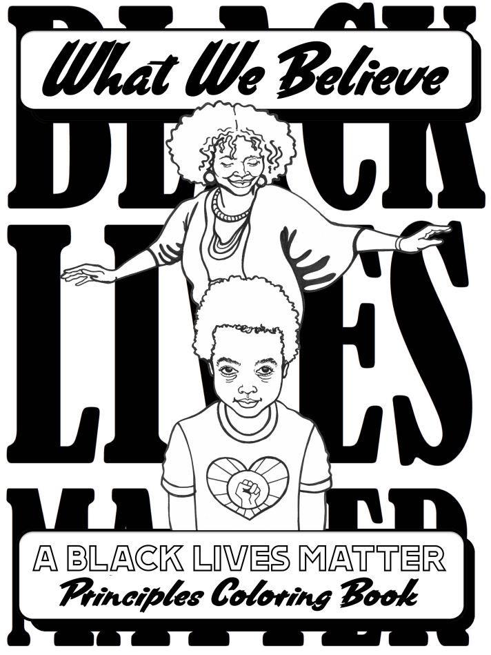 Blm Coloring Book Google Drive Coloring Books Black Lives Matter Books