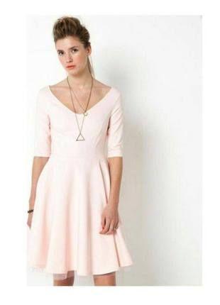 Kup mój przedmiot na #vintedpl http://www.vinted.pl/damska-odziez/sukienki-wieczorowe/15017851-sukienka-z-dekoldem-v-na-plecach-mademoiselle-r-rozmiar-38-roz-pudrowy
