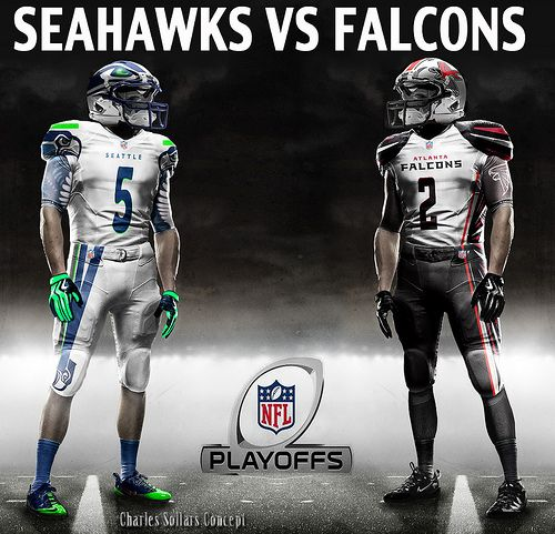 seahawks vs falcons 6 #seahawks #falcons #playoffs #nfl