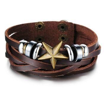 Мужские кожаные браслеты на руку. Выбираем кожаный браслет для мужчин на aliexpress.ua