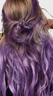 coloration semi permanente loral purple hair pe 2017 love this just at the - Coloration Henn Blond