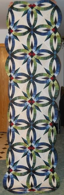 Bali Bed Runner, Quiltworx.com, Made by CI Jodie Madison.