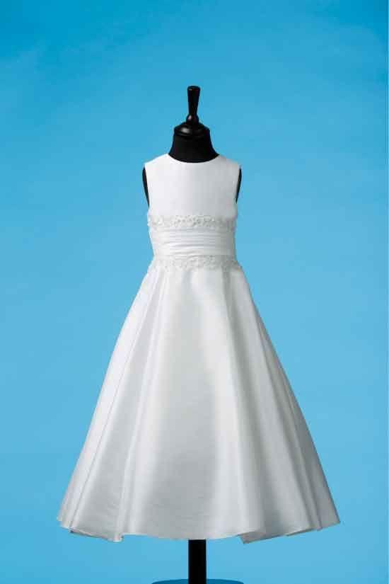 Sophisticated Luxe Taffeta Designer First Communion dress - Koko Collection - Alannah - 83G03015 - New 2014