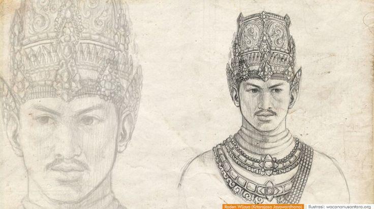 wacananusantara.org | Raden Wijaya (Krtarajasa Jayawardhana)