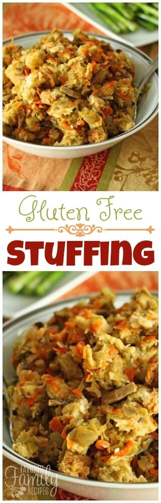 You won't be missing that full-calorie stuffing after trying this gluten free stuffing. It's delicious! Only 82 calories per serving and full of flavor! via @favfamilyrecipz