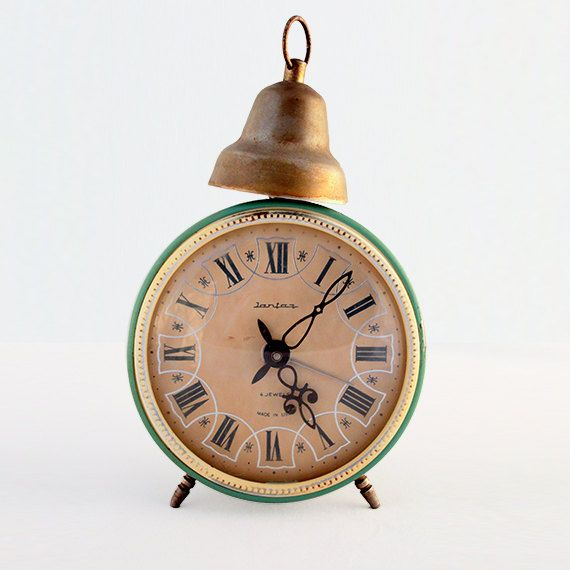 Old russian alarm clock