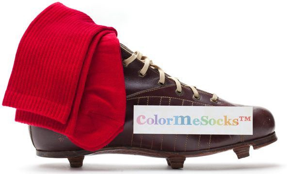 Simply Red by ColorMeSocks™