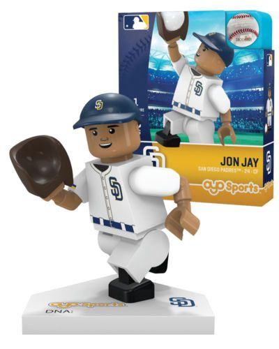 Jon Jay San Diego Padres MLB Minifigure by Oyo Sports Generation 5 NIB NIP SD