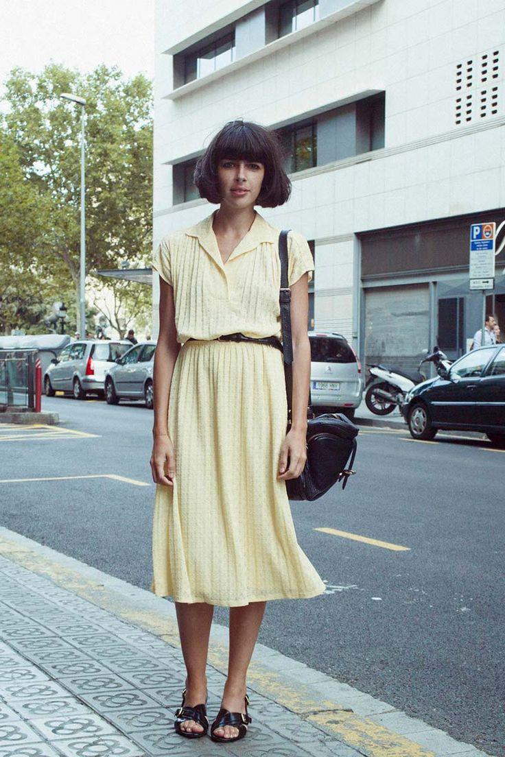 Un viaje en el tiempo // Vogue// Street Style// Bcn