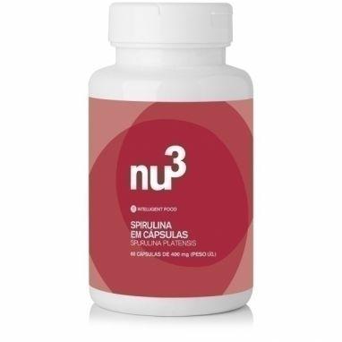 Clique para comprar Spirulina, 60 Cápsulas, Nu3 Naturals. 100% natural. Ótimo preço aqui. Ação antioxidante natural - Natue