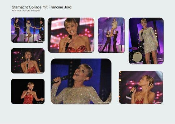 Francine Jordi Starnacht Collage
