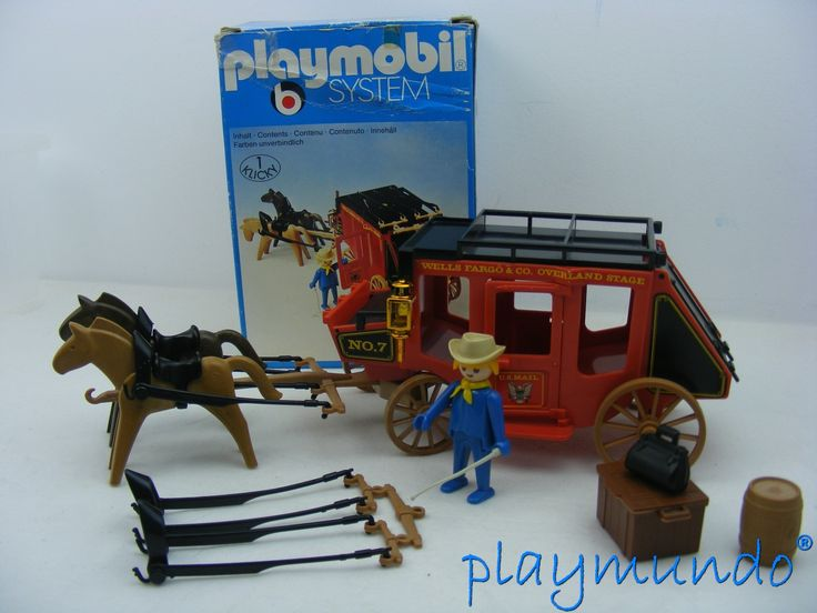 PLAYMOBIL 3245 DILIGENCIA OESTE WESTERN (VERSION 1 - AÑO 1977) http://www.playmundo.es/playmobil-3245-diligencia-oeste-western-version-1---ano-1977-8554-p.asp