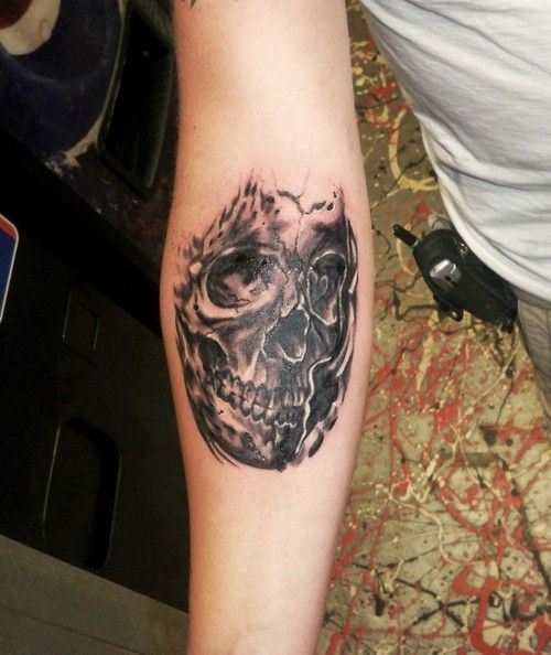 Tattoo Picture At Checkoutmyink Com: 43 Best Grey Wash Skull Tattoo Flash Images On Pinterest
