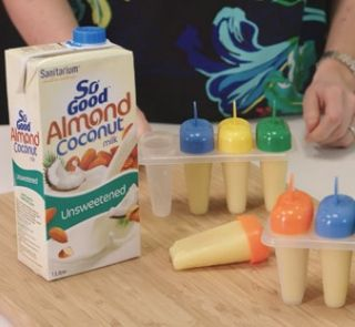 Tropical smoothie ice-blocks   Healthy Food Guide