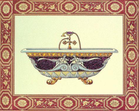 Bath Tubs II Poster di Sheila Higton su AllPosters.it