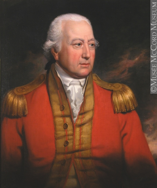 """George 1st Marquis Townshend"" by Samuel Woodforde (1800) at the McCord Museum, Montreal - As far as Canadian history is concerned, Townshend was one of James Wolfe's brigadier generals during the siege of Quebec and the Battle of the Plains of Abraham in 1759.  He's also credited with producing the first known caricatures on Canadian soil, since he often drew sketches satirizing and criticizing Wolfe - an action he was chastised for after Wolfe's death in battle and his acclamation as a…"