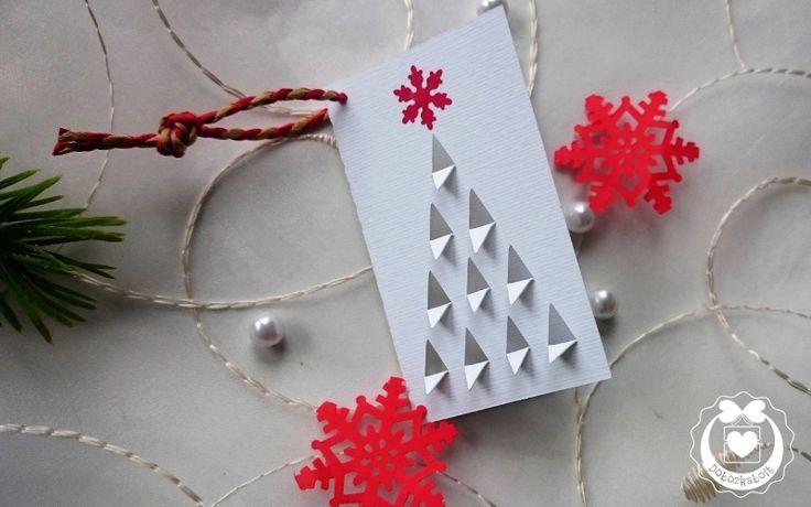 Ajándékokhoz Te magad is készíthetsz egyszerű kísérőkártyát, így: http://dobozkabolt.hu/karacsonyi-kartya-s-k/