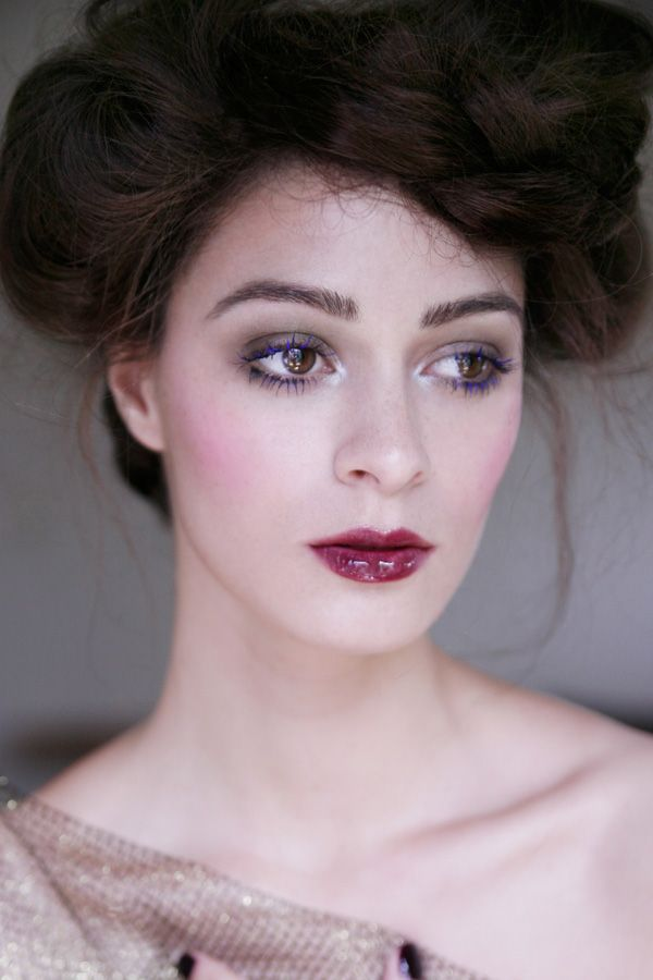 TREND: BLUE LASHES FOR SUMMER 2012 USING YSL - Troy Jensen Makeup