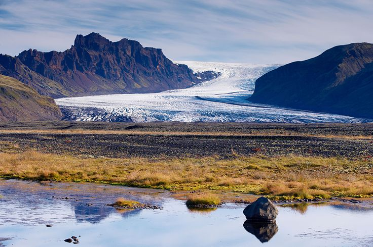 Glaciers! Need to see them before they're gone... Skaftafellsjokull, Skaftafell National Park, Iceland