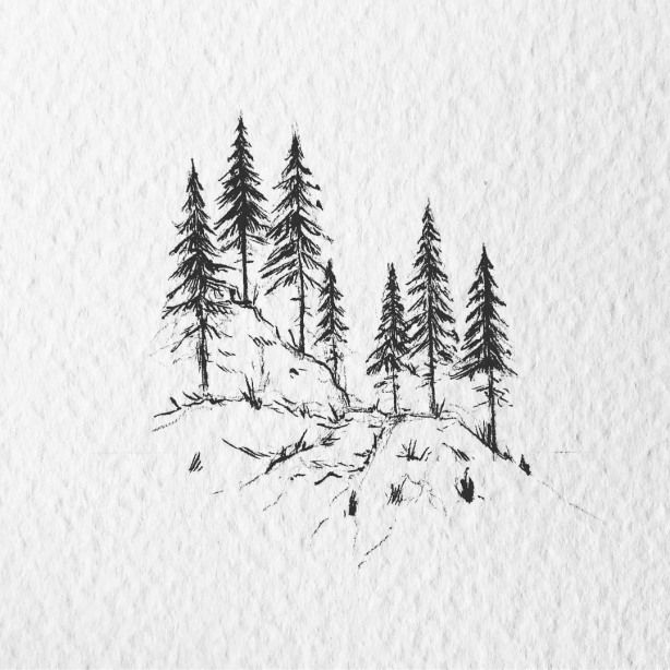 Illustration By Lostswissmiss Blackworknow If You Would Like To Be Featured Submissions Business Inquiries B In 2020 Stippling Art Unique Drawings Mountain Drawing