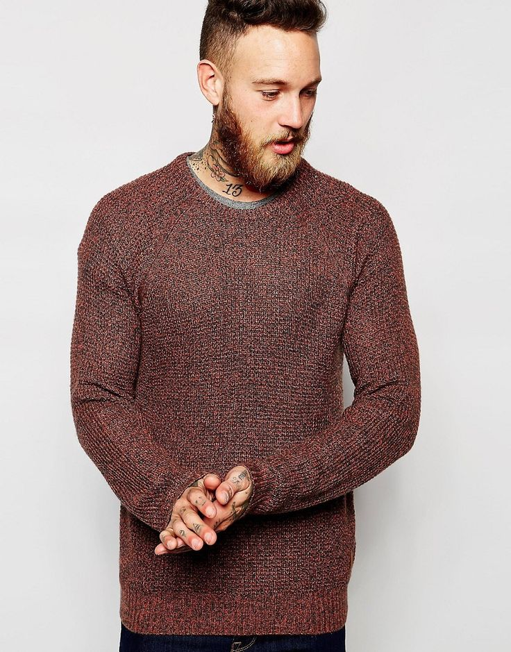 Get this Lee's knit pullover now! Click for more details. Worldwide shipping. Lee Crew Knit Jumper Raglan Melange Waffle Structure - Brown: Jumper by Lee, Lightweight waffle knit, Soft-touch finish, Crew neck, Ribbed trims, Embroidered logo, Fitted cuffs and hem, Regular fit - true to size, Machine wash, 40% Acrylic, 30% Polyamide, 20% Wool, 10% Alpaca wool, Our model wears a size Medium and is 191cm/6'3 tall. Founded in 1889 by Henry David Lee, Lee are a denim brand that utilise their rich…