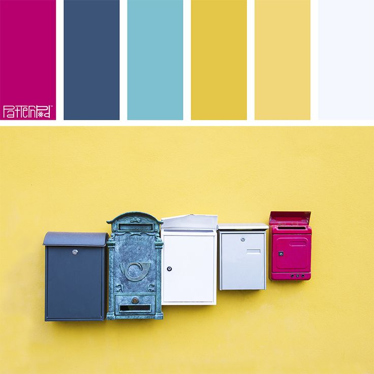 Color Palette: Aqua, Blue, Yellow, Pink. If you like our color inspiration, sign up for our monthly trend letter here! http://patternpod.us4.list-manage.com/subscribe?u=524b0f0b9b67105d05d0db16a&id=f8d394f1bb&utm_content=buffer847d9&utm_medium=social&utm_source=pinterest.com&utm_campaign=buffer