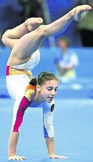 Rumanian female gymnasts performing sex acts
