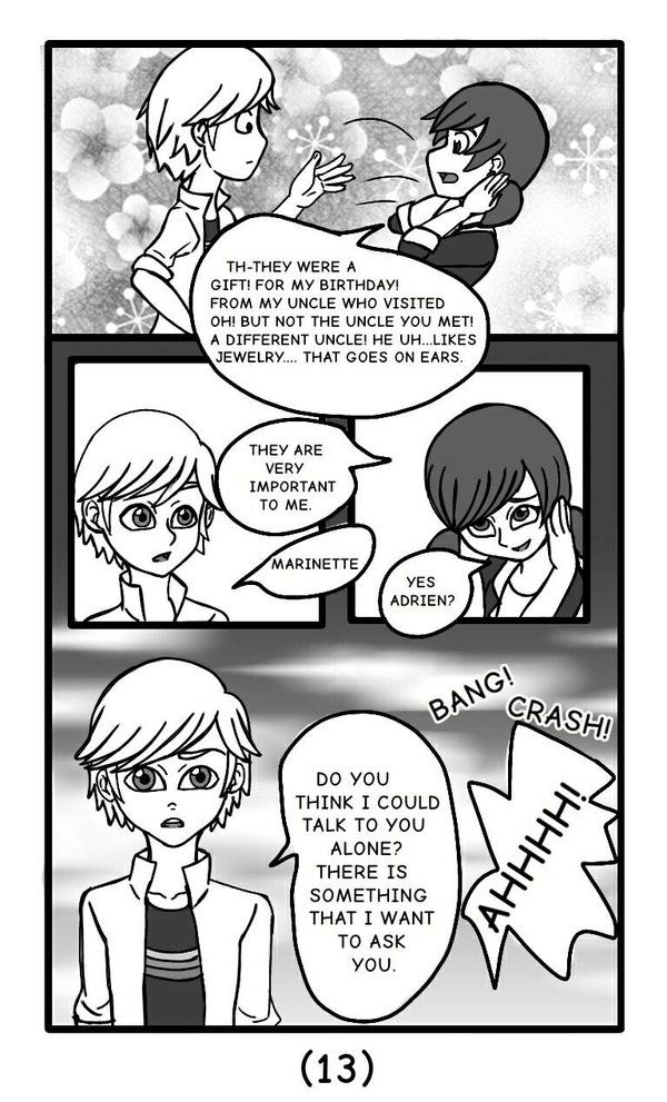 Miraculous AU A Miraculous Love Story Page 13 by MickaylaM