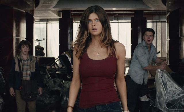 "Alexandra Daddario is the actress who plays Dwayne ""The Rock"" Johnson's daughter in the new action thriller, San Andreas. She's best known for her roles in Percy Jackson (Annabeth Chase), Texa"