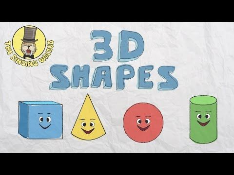 3D Shapes Song   Shapes for kids   The Singing Walrus - YouTube
