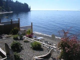 A Peace of Paradise - Oceanfront Luxury Beach Home Vacation Rental in Sechelt from @HomeAway! #vacation #rental #travel #homeaway