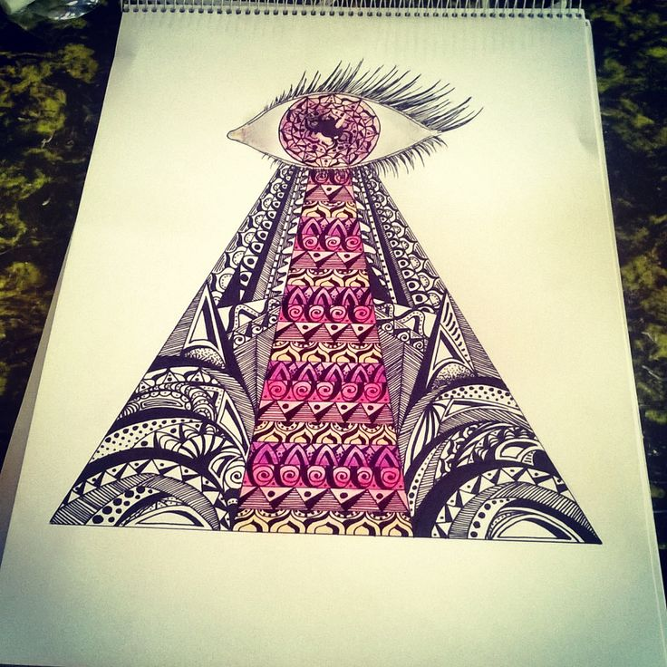 illuminati mandala art