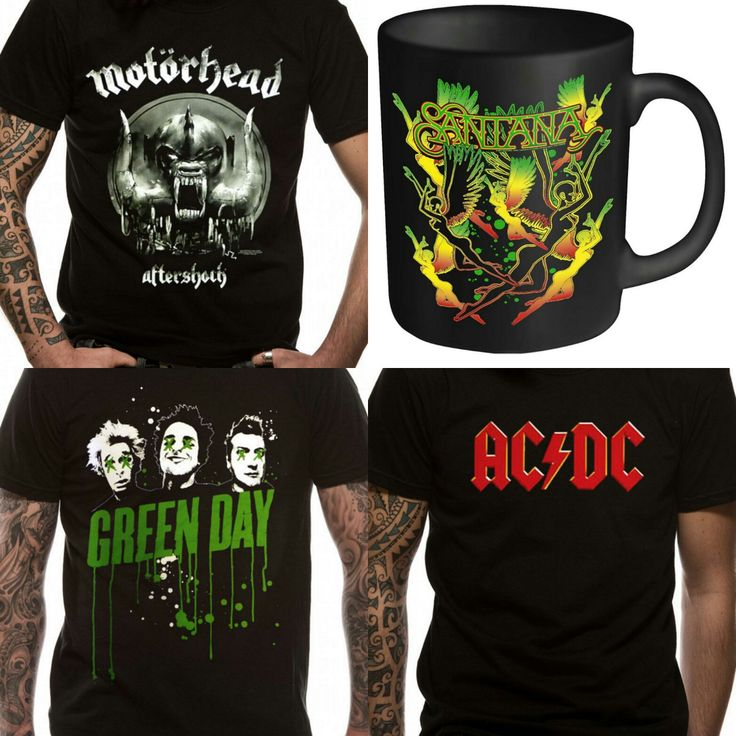 Find your Favorite Rock Band T-shirts & Merchandise available at Loud Clothing http://tidd.ly/e4617d28