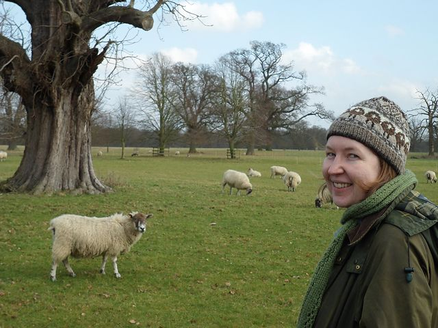 Ravelry: Kate Davies Sheep Heid, on location at Ickworth House, Suffolk