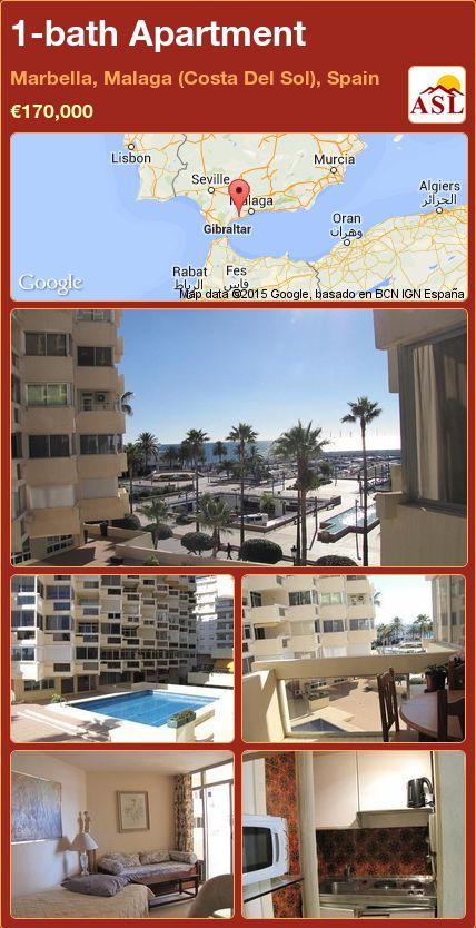 1-bath Apartment in Marbella, Malaga (Costa Del Sol), Spain ►€170,000 #PropertyForSaleInSpain