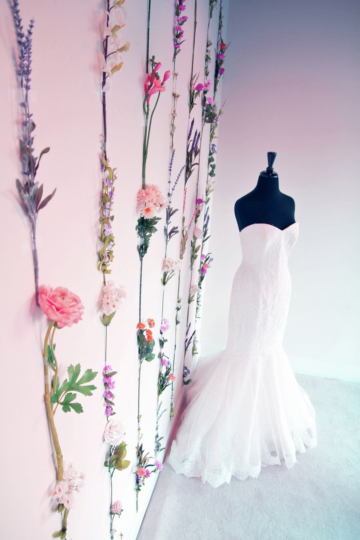 Spring Window Display at Soliloquy Bridal Couture by Sarah Park Events …
