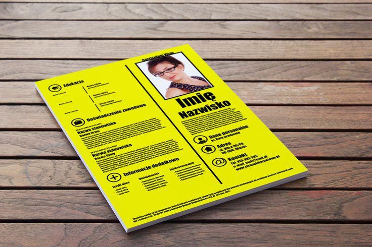 Szablon CV, Infografika CV – Nietypowa inspiracja to świetne połączenie stylu i funkcjonalności nowoczesnego CV -> http://cv-szablony.pl/wzor-cv/szablon-cv-infografika-cv-nietypowa-inspiracja/
