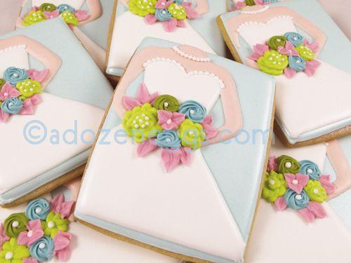 Wedding Gown Cookies