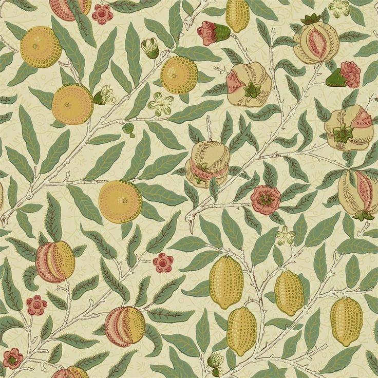 WR8048/1 William Morris FRUIT Wallpaper Morris